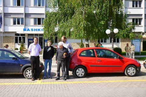 Handing over of vehicles for the City Police Pogradec