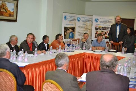 Political municipal seminar with the Konrad Adenauer Foundation in Pogradec